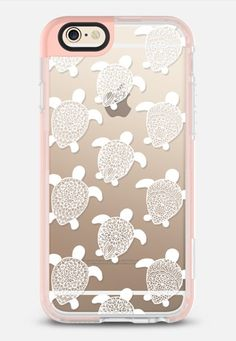 White Turtles Henna Lace iPhone 6 case by Jess Melaragni | Casetify
