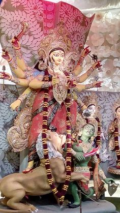 Durga Puja Kolkata, Durga Goddess, Samurai, Art, Art Background, Kunst, Performing Arts, Samurai Warrior, Art Education Resources