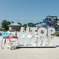 #WheresTopCity? Take a guess!  _________________________________ #topcity #topeka #topekaks #visittopeka #noplacelikeks #summer #summerday #poolside #4thofjuly #independenceday #fourthofjuly