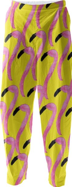 Cynthia Rowley PINK FLAMINGOS ON TURQUOISE WRAPPING PAPER NWT SUPER CUTE!