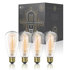 Shop for Vintage Edison Light Bulb Pack) - Dimmable Exposed Filament - Incandescent Clear Teardrop Squirrel Cage Style - Medium Base - 210 Lumens. Starting from Choose from the 2 best options & compare live & historic light source prices. Bar Pendant Lights, Pendant Light Fitting, Edison Lighting, Retro Lighting, Coastal Lighting, Sconce Lighting, Glass Light Shades, Vintage Light Bulbs, Incandescent Light Bulb