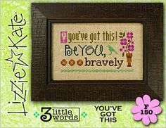 3 Little Words - You've Got This by Lizzie Kate