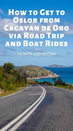 How to Get to Oslob from Cagayan de Oro Via Car and Boat Rides Visayas, Chevrolet Trailblazer, Mindanao, Whale Sharks, Touring, Road Trip, Swim, Country Roads, Boat
