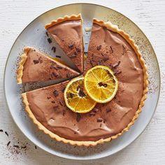 Tranches D'orange, Valeur Nutritive, Cacao, Tiramisu, Pie, Ethnic Recipes, Desserts, Food, Mini Blueberry Tarts