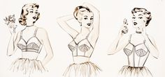 old fashioned boobs    IMAGE    historical reference - corest like fit yet different shpe highlighting woman's figure