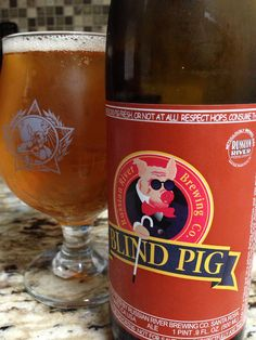 """Blind Pig IPA"" from Russian River Brewing Company #beer #brewing #ipa"
