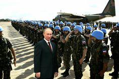 Ukraine: Putin stellt 50.000 russische Blauhelme für UN-Friedensmission in Aussicht