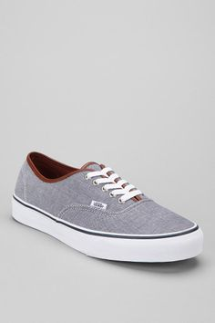 Vans Authentic Chambray Sneaker #urbanoutfitters