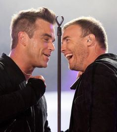 Robbie Williams Gary Barlow