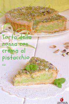 con al Non so se questa si chiamasse così perché l'abbia inventata una delle nostre meravigliose nonne o porta questo nome perché a lei dedicata ✫♦๏༺✿༻☼๏♥๏花✨✿写☆☀🌸✨🌿✤❀ ‿❀🎄✫🍃🌹🍃❁~⊱✿ღ~❥༺✿༻🌺♛☘‿FR May ♥⛩⚘☮️ ❋ Bolo Cake, Torte Cake, Easy Cooking, Cooking Recipes, Healthy Recipes, Italian Desserts, Italian Recipes, Dessert Dishes, Dessert Recipes