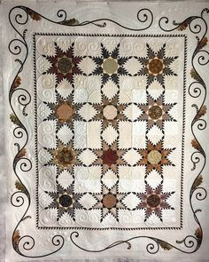 Jan Z. saw this pattern in Paducah last year and had to have it - she loves handwork and knew she would enjoy all the embroidery.   ...