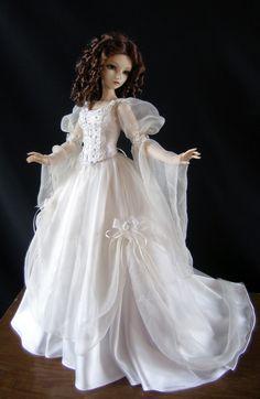 Innocent girl. Barbie Tonner OOAK doll.