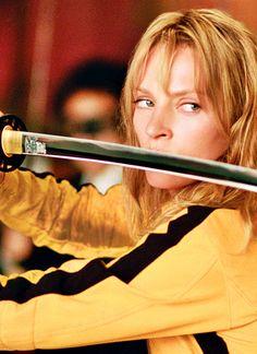 """Uma Thurman en""""Kill Bill: Volumen 1″ (Kill Bill: Volume 1), 2003"""