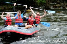 Go whitewater rafting