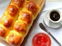 Abóbora Menina: Pão de Mandioquinha-Salsa