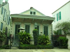 Creole Cottage on Royal Street