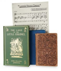 """Love, Shirley Temple, Take Two: From Schoolgirl to Storybook: 170 Rehearsal Sheet Music and Three Books Owned by Shirley Relating to the """"The Little Colonel"""""""