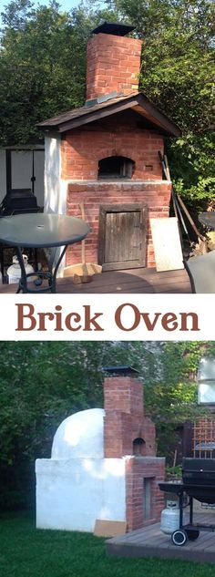 How to build an impressive brick oven! #PizzaOven #BackyardProject #BrickOven