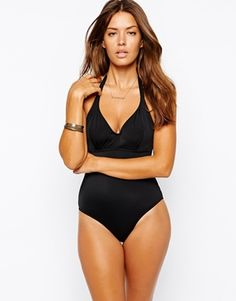 For lil mamas swim class  Enlarge ASOS Fuller Bust Exclusive Hidden Underwire Swimsuit DD-G