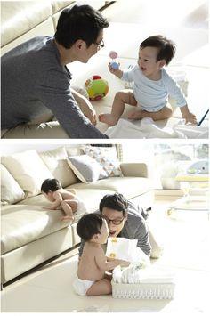 The Return of Superman (2014) -  Lee Hwi-jae and his twins