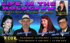 http://kcorradio.com/KCOR/Podcasts/Life-In-The-Hologram/2015/December/Elizabeth-Rose-Life-In-the-Hologram-Madeline-Rudy-Sue-Kelly-John-Poginy-KCOR-Digital-Radio-Network.mp3  #kcor#extreameyes#trimunow