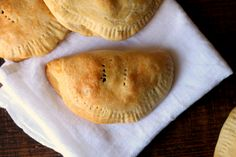 """When I was younger and growing up in South America, one of my favorite foods to eat was empanadas. If you aren't familiar with them, empanadas are stuffed pastries (or as my husband calls them """"pies"""") that can be baked or fried. The ones I grew up with were always savory, and werefilled with all …"""