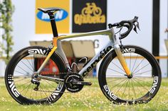 MTN Qhubeka team bike // Cervelo S5 with ENVE wheels