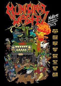 Municiple Waste- Australia/New Zealand tour