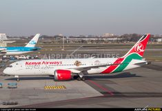 Kenya Airways 5Y-KZG aircraft at Amsterdam - Schiphol photo