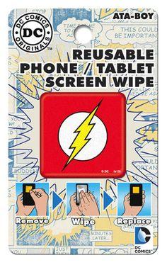 DC Comics Flash Screen Wipe