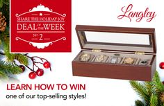 Facebook Holiday Giveaway Week 2: The Langley Watch Box