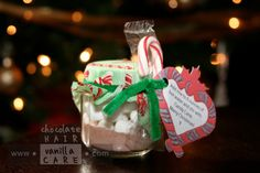 46 New Ideas Baby Food Jars Crafts Christmas Party Favors Christmas Party Favors, Christmas Jars, Christmas Crafts For Gifts, Craft Gifts, Christmas Time, Christmas Ideas, Holiday Ideas, Winter Ideas, Thanksgiving Crafts