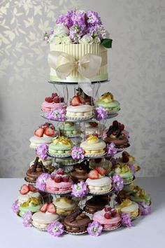 Macaron Gateaux Wedding Cake