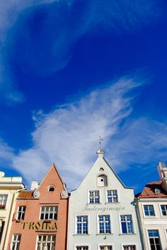 Raekoja Plats, centre of Tallinn. Russian Orthodox, Cathedral Church, Centre, Architecture, Painting, Art, Style, Painting Art, Paintings