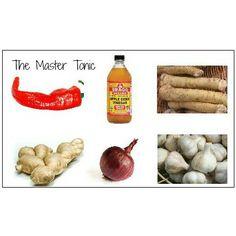 The Master Tonic: Natural Flu Antiviral #health #wellness #home #remedies #flu