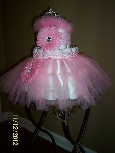 Princess Diaper Cake Baby Shower Gift Party Centerpiece