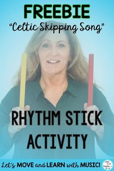 Rhythm Stick Celtic Music Activity: Teach Form, Beat, Create a Pattern