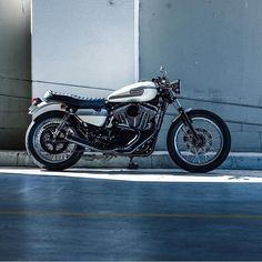 "dropmoto: "" Deus built dime piece. The Gentleman Jim, a custom Harley Davidson stunner built at @deushouse by @jeremy.tagand. #dropmoto #hd #harleydavidson #harley #deusexmachina #caferacer..."