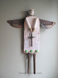 Hinge and Rust Junk Angel