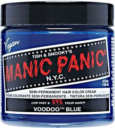 Manic Panic - Voodoo Blue (if can't find, then Atomic Turquoise)
