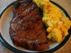 Steak and Eggs ~ my favorite breakfast