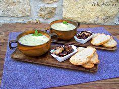 À la Marion : Wildkräuter-Kartoffel-Cremesuppe