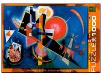 Kandinsky In Blue 1000 Piece Puzzle Puzzle Art, Blues Artists, Wassily Kandinsky, Puzzle Pieces, The Darkest, Recycling, Spirituality, Ink, Fine Art