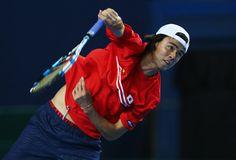 Taro Daniel Photos - Great Britain v Japan - Davis Cup: Previews - Zimbio
