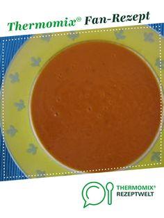 cremige Tomatensuppe, schnell und low fat von Ritzicook. Ein Thermomix ® Rezept aus der Kategorie Suppen auf www.rezeptwelt.de, der Thermomix ® Community.