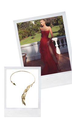 Be a princess wearing unique design necklace with an open shoulder dress for gala events Leaf Necklace, Street Wear, Shoulder Dress, Events, Princess, Unique, How To Wear, Dresses, Design
