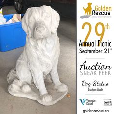 Auction Items, In Loving Memory, Rescue Dogs, Life Is Good, Picnic, This Is Us, Adoption, Events, Statue