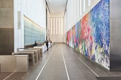 Go inside One World Trade Center's inaugural art collection, curated by Edelman Arts.