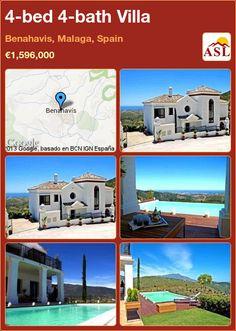 4-bed 4-bath Villa in Benahavis, Malaga, Spain ►€1,596,000 #PropertyForSaleInSpain