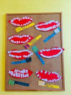 Dental Activities for Kids - Todo Sobre La Salud Bucal 2020 Preschool Art Activities, Health Activities, Preschool Education, Preschool Activities, Kindergarten Science, Preschool Lessons, Preschool Classroom, Daycare Crafts, Crafts For Kids